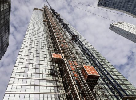 Tailored service solutions for vertical access systems at Landmark Pinnacle, London