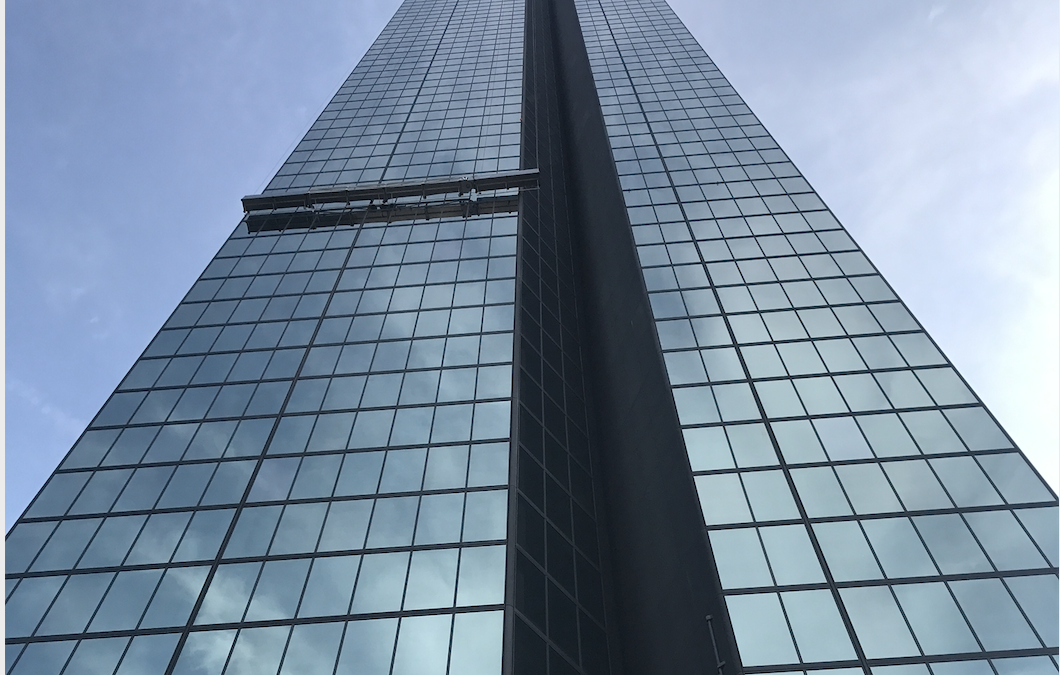 Overcoming installation challenges for a replacement BMU at 200 Clarendon, Boston