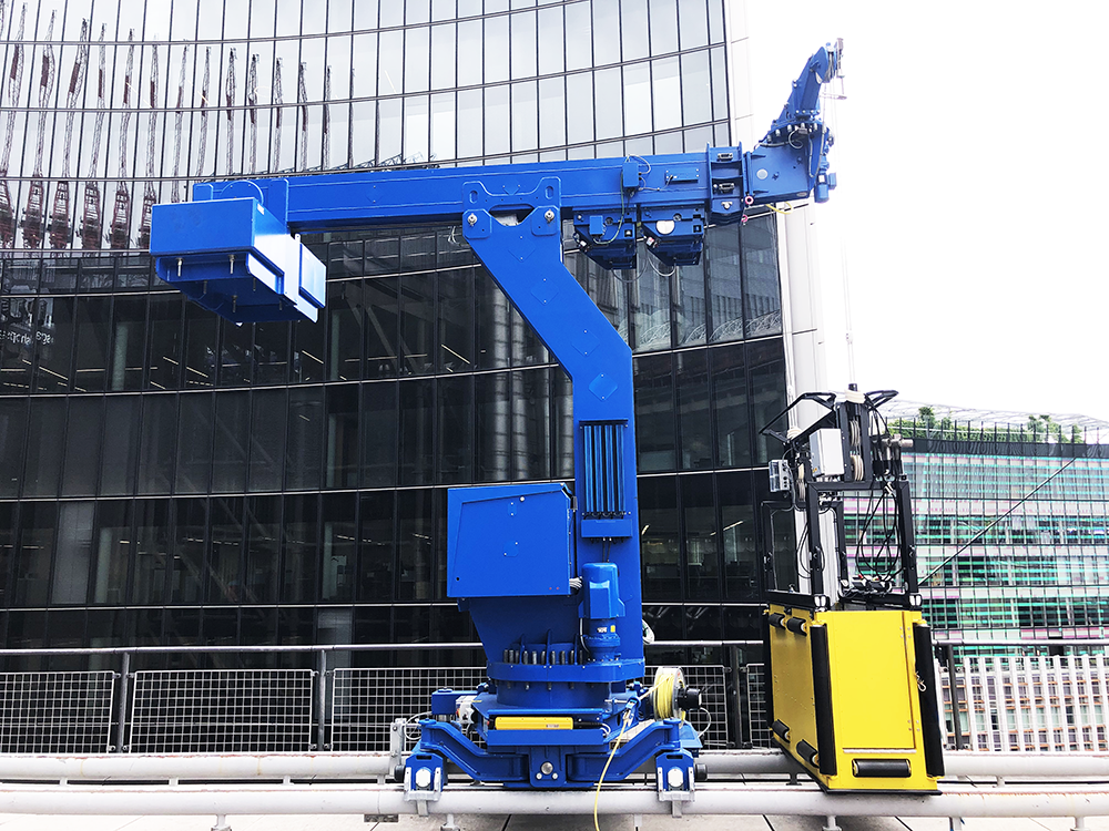 Alimak Service coordinate replacement building maintenance systems for Lloyd's of London building